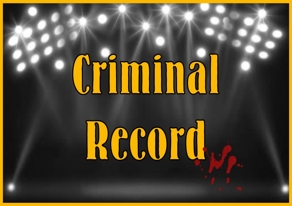 Criminal Record - A Murder Mystery